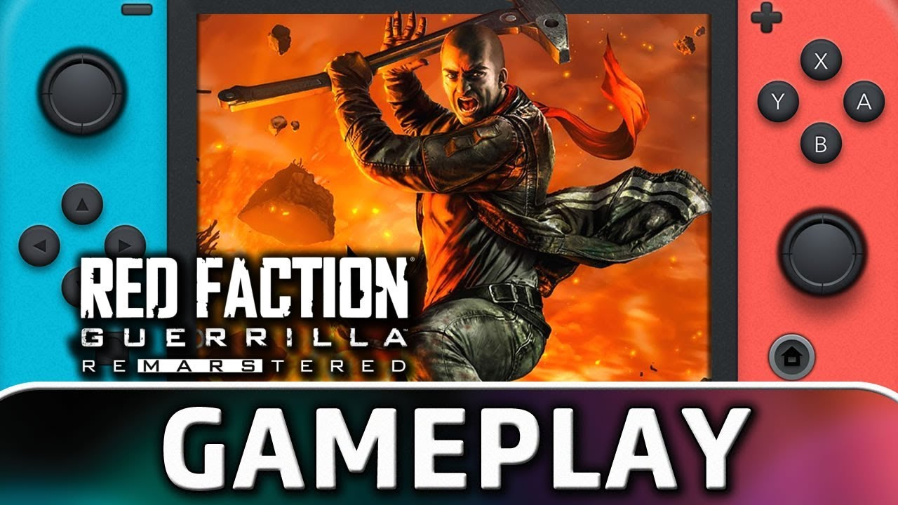 Red Faction Guerrilla Re-Mars-tered | First 15 Minutes in Handheld MODE on Nintendo Switch