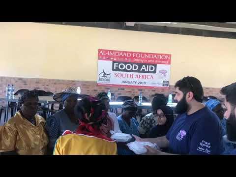 South Africa Food Aid - Jan 2019