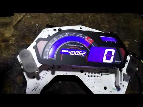 Yamaha fz digital meter modified sri Lanka