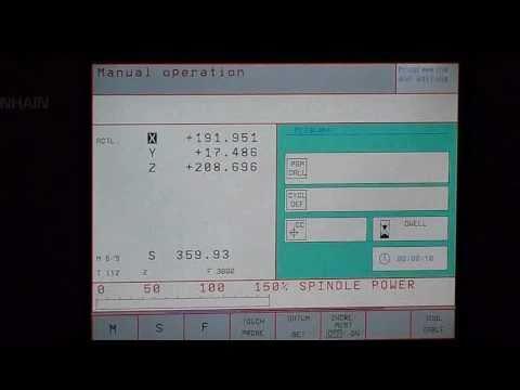 start up of heidenhain tnc 426 430 youtube rh youtube com Heidenhain Encoder Heidenhain Encoder