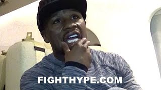 FLOYD MAYWEATHER REACTS TO PACQUIAO'S LOSS TO JEFF HORN; CAUTIOUS OF SAME FATE WITH MCGREGOR