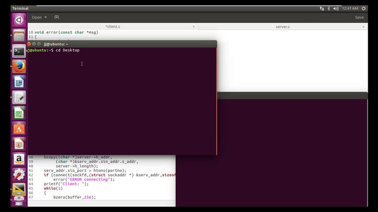 Code the server part 1 | socket programming | tutorial no 4 youtube.