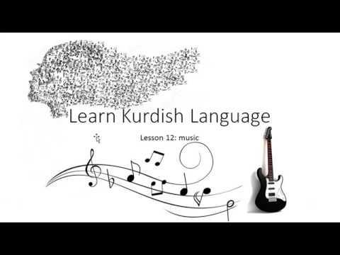 learn kurdish language lesson 12: Music