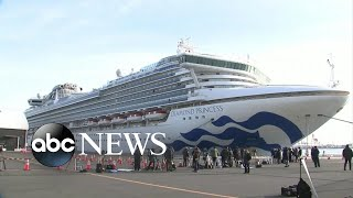 Thousands stuck on quarantined cruise ship off the coast of Japan