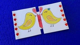 Сюрприз на День Святого Валентина. Оригинальное поздравление на день влюбленных.