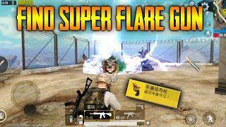 PUBG Mobile Super FLARE Gun | Where to FIIND IT ?!?! - Super FLARE Gun LOCATION | PUBG Mobile 0.13.5