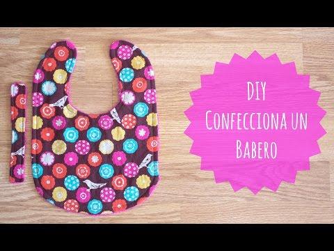 DIY - Como confeccionar un Babero | Coser con Manneken
