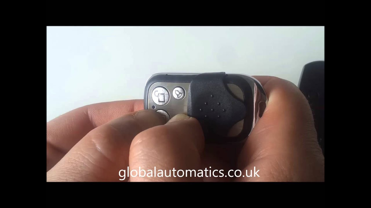RED LIGHT 433MHz Fixed Code Remote Control