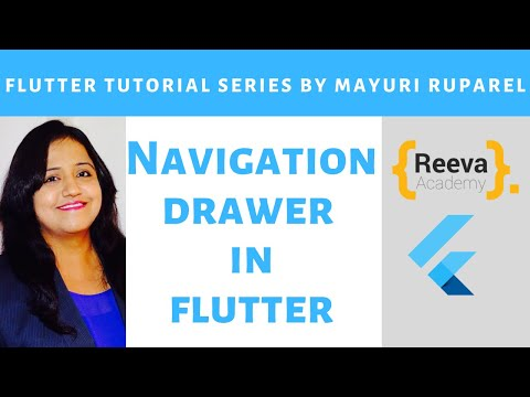 Flutter Tutorial | Navigation Drawers in Flutter | Learn Flutter with Mayuri Ruparel thumbnail