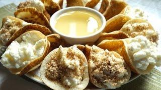 طريقة عمل القطايف بالقشطة الوصفة والطريقة بالتفصيل !! Cream Qatayef The Best Recipe EVER