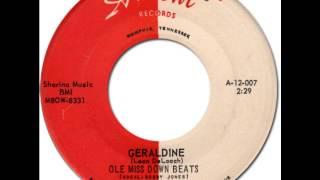 OLE MISS DOWN BEATS - Geraldine [Ardent 007] 1963