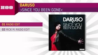 Daruso - Since You Been Gone (Radio Edit)