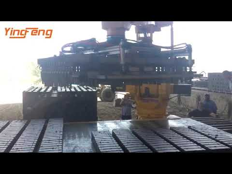 Omnidirectional Clay Brick Stacker Robotics Stacking Machine Working In South Africa