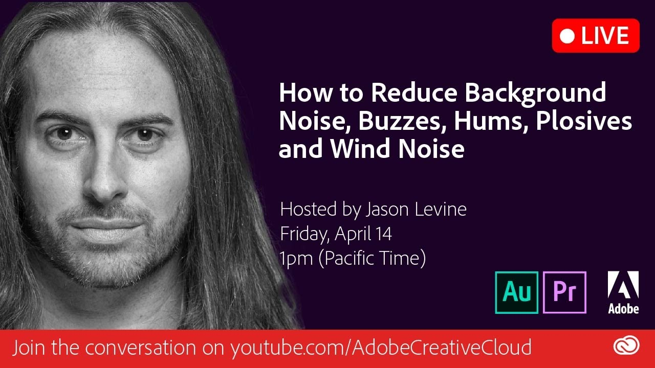 How to Reduce Background Noise, Buzzes, Hums, Plosives & Wind Noise