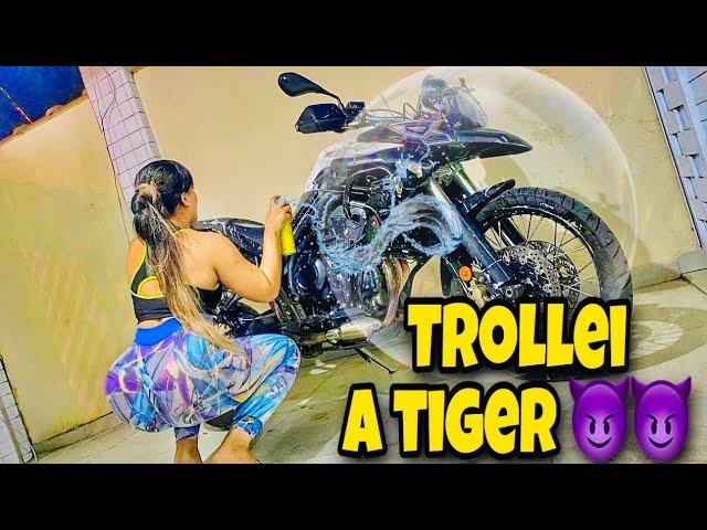 TROLLEI A TIGER DO MEU NAMORADO