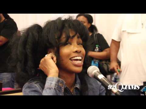 SZA Runs Up on Consequence During BET Awards Weekend 2017