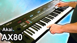 AKAI AX80 + Eventide Pitchfactor = Ambient chillout arpeggiator music 【SYNTH DEMO】