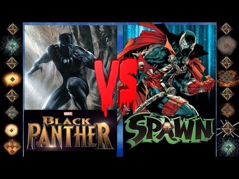 Black Panther (Marvel Comics) vs Spawn (Image Comics) - Ultimate Mugen Fight 2016
