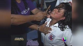 Archivo de 'Impacto': Exorcismo masivo a unos