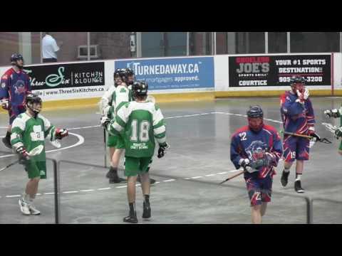 Green Gaels vs Orilla Kings
