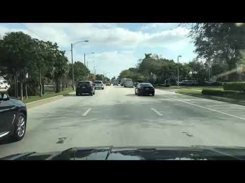 Driving an errand then grabbing lunch