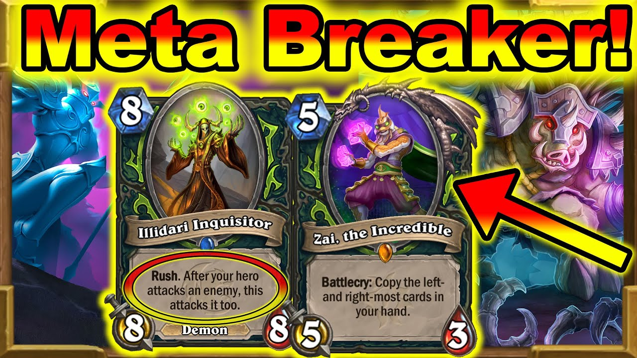 Zai Is More Broken Thank You Think! Demon Hunter Rises From The Dead! Barrens New | Hearthstone