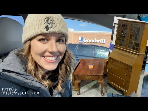 Top 5 Thrift Store Furniture Shopping Tips | Shop With Me