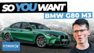 So You Want a G80 BMW M3