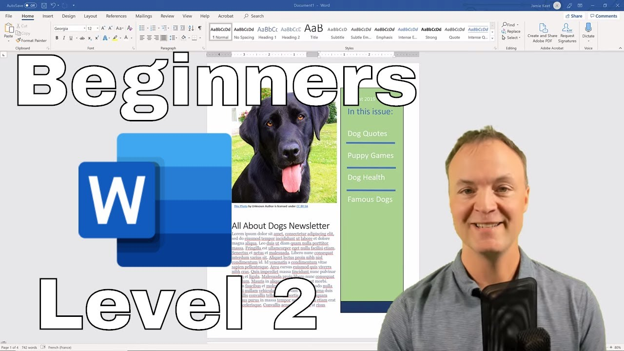 Microsoft Word Tutorial – Beginner's Level 2 (With Tips and Tricks)
