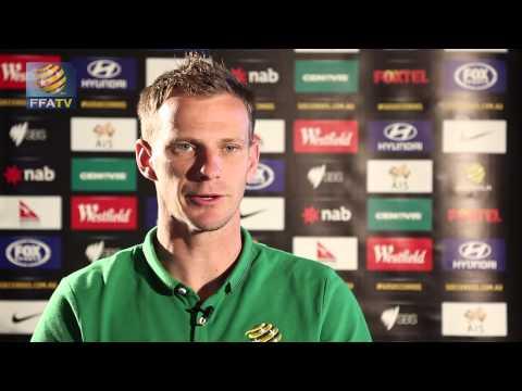 FFA TV: Alex Wilkinson willing Socceroos to Cup success