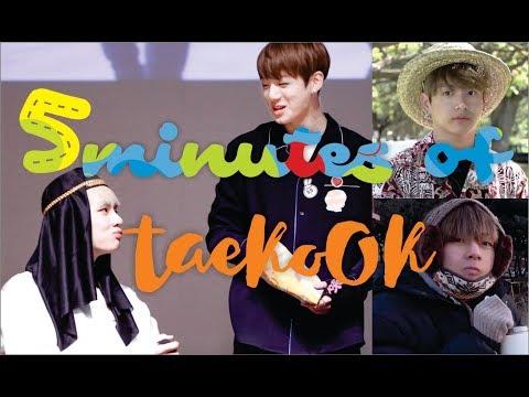 (태국/뷔국/국뷔) 5 minutes OF Taekook