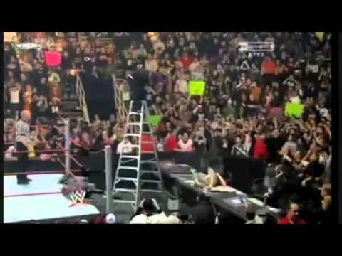 Jeff Hardy VS Edge Royal Rumble 2009 Highlights - YouTube