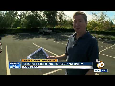 Oceanside church fighting to keep nativity
