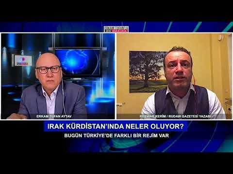 Konuk : Rudaw Gazetesi Yazarı Gazeteci Rebwar Kerim. Irak Kürdistan'ında neler oluyor?