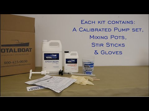 TotalBoat Traditional 5:1 Epoxy Kits