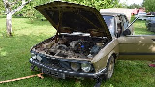 Download Starting 1981 BMW E28 520i After 9 Years (1080p) Mp3 and Videos