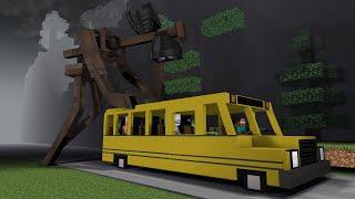 Monster School vs Siren Head - Minecraft Animation
