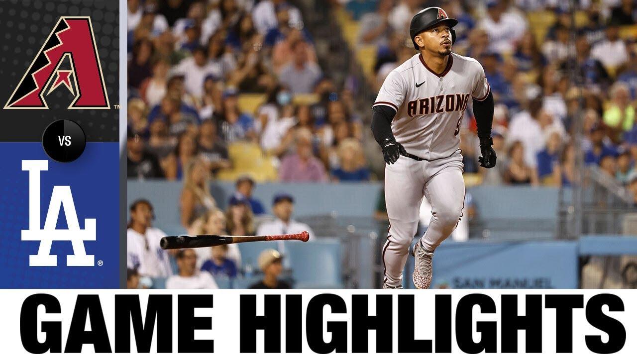 Download D-backs vs. Dodgers Game Highlights (7/9/21) | MLB Highlights