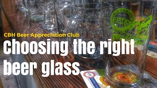 Beer Appreciation (Part 1 of 3) - Choosing The Right Beer Glass