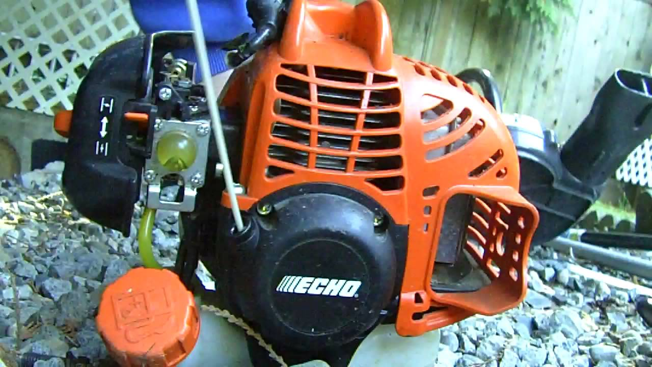 Echo Gt225 Curved Shaft Weed Trimmer Cold Start