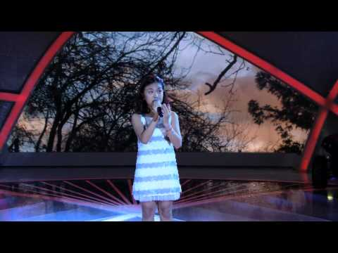 Programa Raul Gil - Yasmin Yamashita (Ai no Uta) - Jovens Talentos Kids