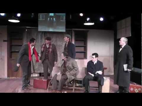 """Miners Alley Playhouse presents the Regional Premiere of """"The Pitmen Painters"""" 3/1 - 4/7"""