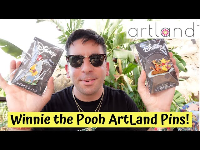 Winnie the Pooh 100 Aker Woods Series ArtLand Pins! | Limited Edition of 250