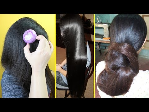 Just 1 Onion To Grow Extremely Long Hair Like Rapunzel, Stop Extreme Hair Fall & Hair Loss