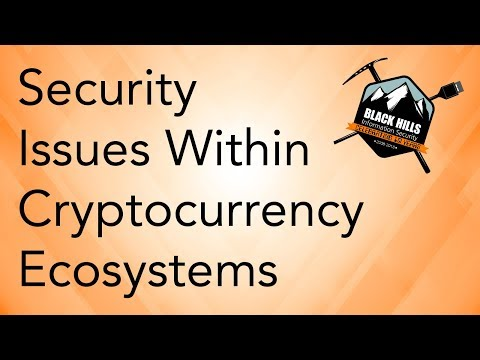 A Look Into Emerging Security Issues Within Cryptocurrency Ecosystems
