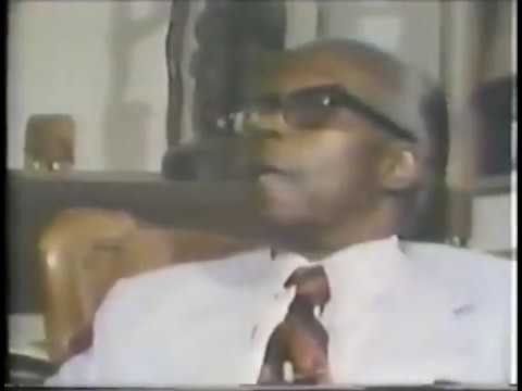 "SCETV ""DR. CHANCELLOR WILLIAMS"" 1978"