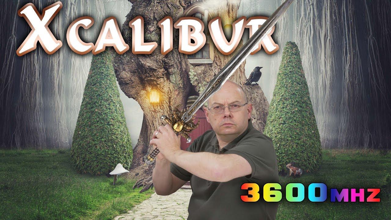 Team Group Xcalibur RGB 16GB DDR4-3600MHz - Yes, MORE RGB Memory!