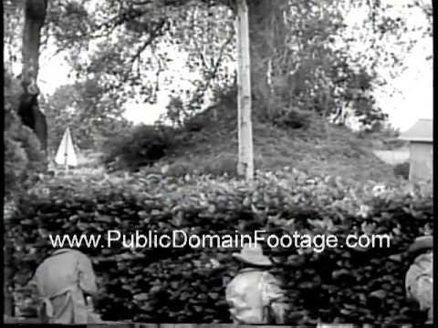 Congo War Battle for Katanga Newsreel PublicDomainFootage.com