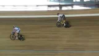 Денис Дмитриев: спринт на велотреке
