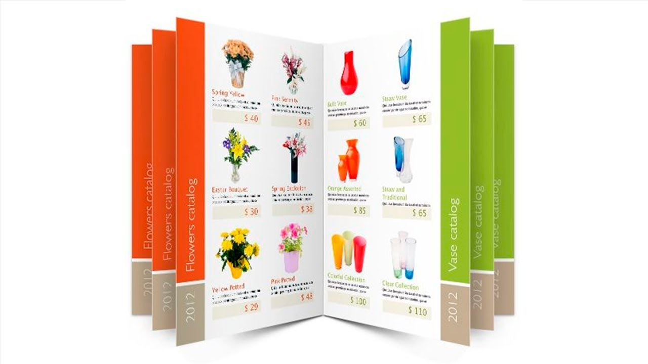 Plantilla para catalogo de productos word gratis
